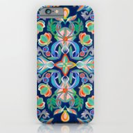 Boho Navy And Brights iPhone 6 Slim Case