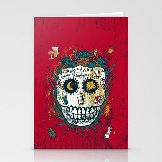 Tequila Stationery Card