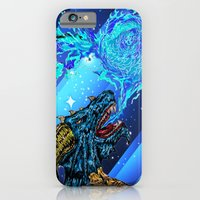 blue dragon fire artist iPhone 6 Slim Case