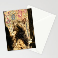 Why you wake me up? Stationery Cards