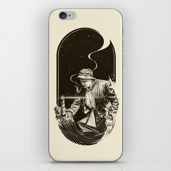The Lighthouse Keeper iPhone & iPod Skin