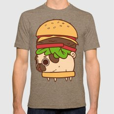 Puglie Burger Mens Fitted Tee Tri-Coffee SMALL