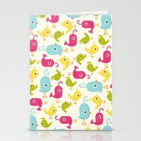 Sweet Tweets Stationery Cards