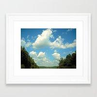 Open Wild Framed Art Print