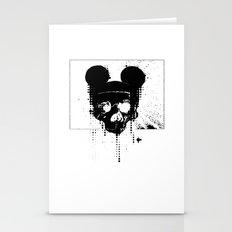 Horror Mickey Stationery Cards