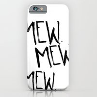 iPhone & iPod Case featuring Mew. by Jenna Settle