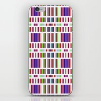 Retro Bar Pattern iPhone & iPod Skin