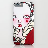 iPhone & iPod Case featuring beatrix and the commune of red by Braidy Hughes