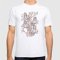 Sparrows Mens Fitted Tee Ash Grey SMALL
