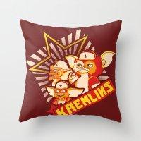 Kremlins Throw Pillow