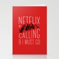 Netflix is calling Stationery Cards
