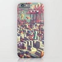 iPhone & iPod Case featuring Pier Tetris by Ivan Guerrero