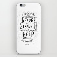 14/52: Psalm 46:1  iPhone & iPod Skin