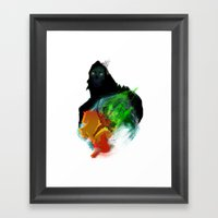 Uprising Framed Art Print