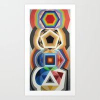 Primary Totem Art Print