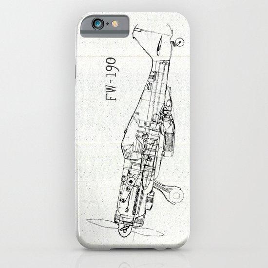 FW - 190 ( B & W) iPhone & iPod Case