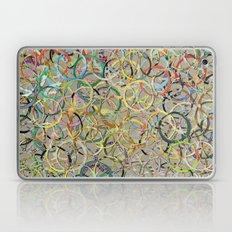 Rainbow Circles Collage Laptop & iPad Skin