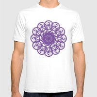 Cycle Circle Mens Fitted Tee White SMALL