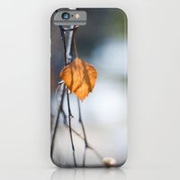 iPhone & iPod Case featuring Last Leaf of Winter by Katie Kirkland Photography