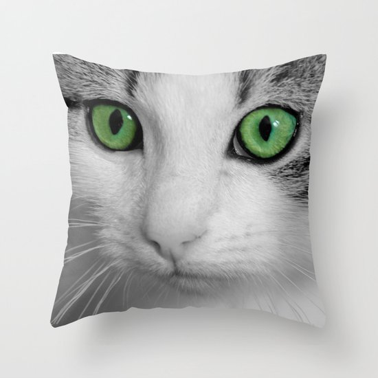 KITTURE Throw Pillow