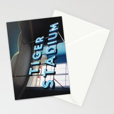 Tiger Stadium  Stationery Cards