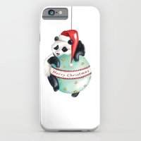 Christmas Panda iPhone 6 Slim Case