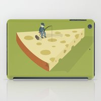 Slice fishing iPad Case