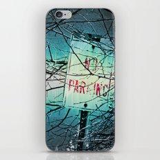 No Parking iPhone & iPod Skin