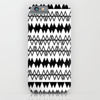 iPhone & iPod Case featuring Tribal Lines by Emma Mazur