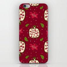 Colorful pomegranate iPhone & iPod Skin