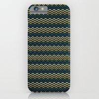 Chevron #265C73 iPhone 6 Slim Case