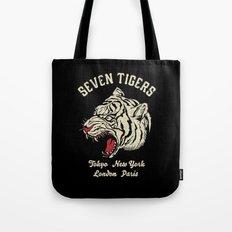 Seven Tigers Tote Bag
