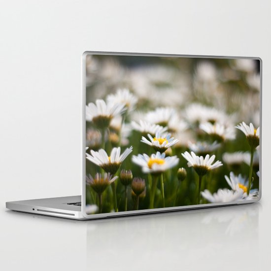 Daisy Field Laptop & iPad Skin