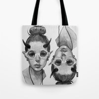 Monster Girl #3a Tote Bag