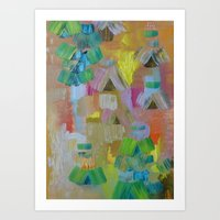 Abstract 64 Art Print