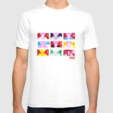 Marie A. Mens Fitted Tee White SMALL