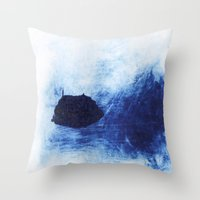 Frozen Deep Throw Pillow