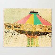 Rainbow Swing Love Canvas Print