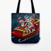 Christmas Hijackers Tote Bag