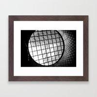 fulton center skylight Framed Art Print