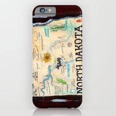NORTH DAKOTA iPhone 6 Slim Case
