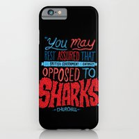 Opposed To Sharks iPhone 6 Slim Case
