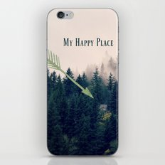 My Happy Place iPhone & iPod Skin