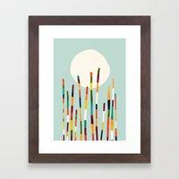 Bamboo Forest Framed Art Print