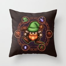 Gnome Throw Pillow