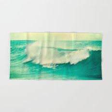 The force of the waves Hand & Bath Towel