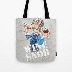 Wine Snob Tote Bag