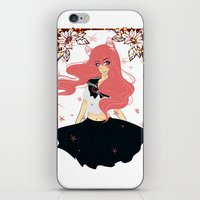 Kawaii Neko Anime Girl iPhone & iPod Skin