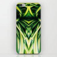 50 Shades of Green (3) iPhone & iPod Skin