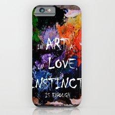 untitled art Slim Case iPhone 6s